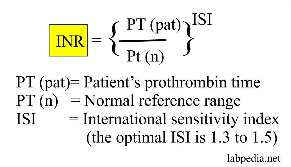 Coagulation – part 5 – INR, International Normalized Ratio (PT, PTT)
