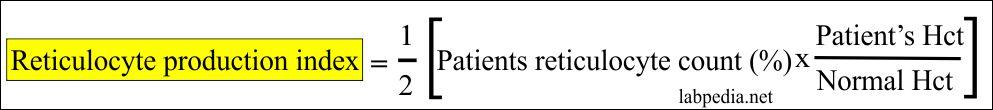 Reticulocyte Count (Retic count)