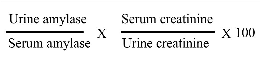 Urine Part 17:- Urine amylase (Amylasuria),  Amylase/Creatinine clearance ratio